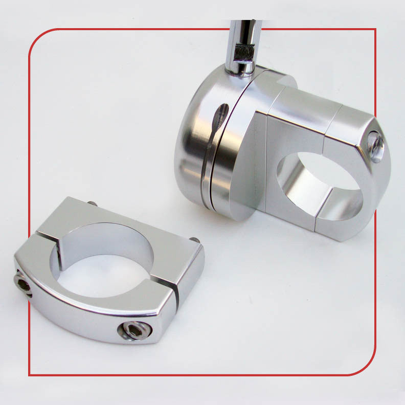 "1.125"" [28.6mm] Frame Clamp (Silver)"