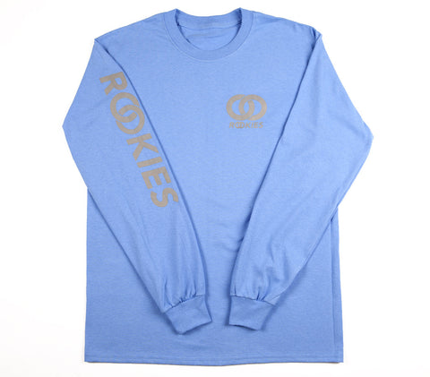REFLECTIVE LONG SLEEVE TSHIRT BLUE