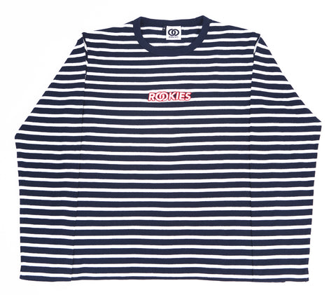 STRIPED TOP NAVY