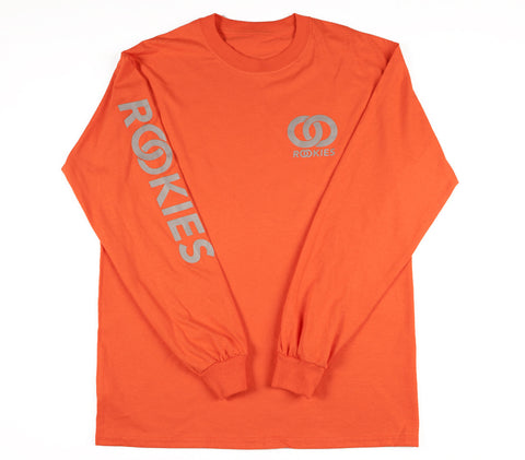 REFLECTIVE LONG SLEEVE TSHIRT ORANGE