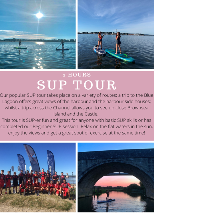 Poole Harbour Watersports School Paddleboard Tour