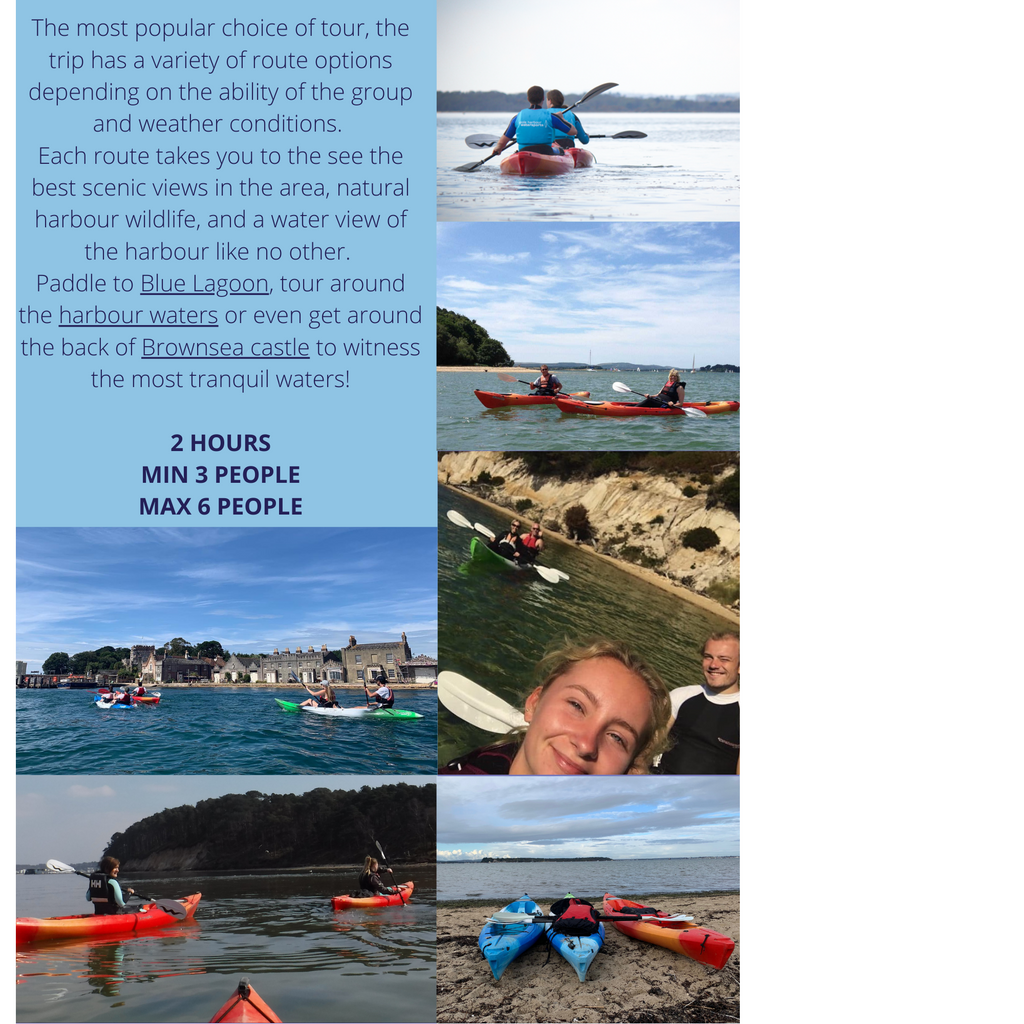 Poole Harbour Watersports School 2 Hour Kayak Tour