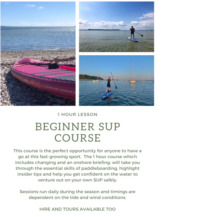 Poole Harbour Watersports School SUP Beginner Lesson