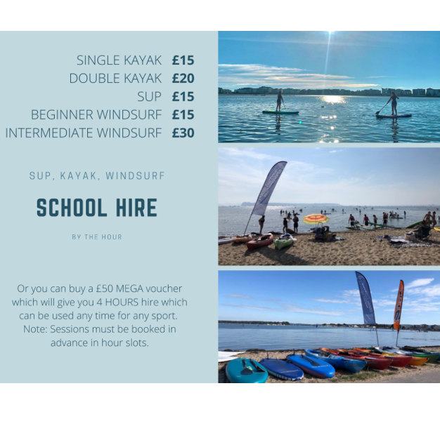 Poole Harbour Watersports School Hire