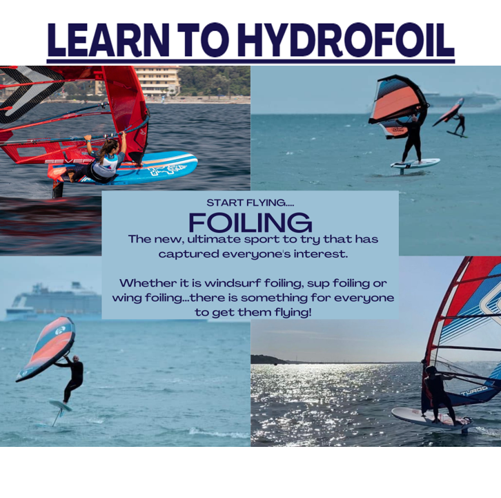 Poole Harbour Watersports School Foiling Tuition