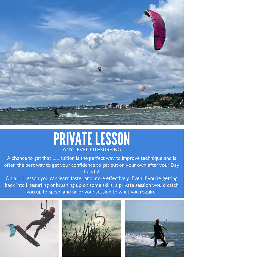 Poole Harbour Watersports School Private Kitesurfing Lesson