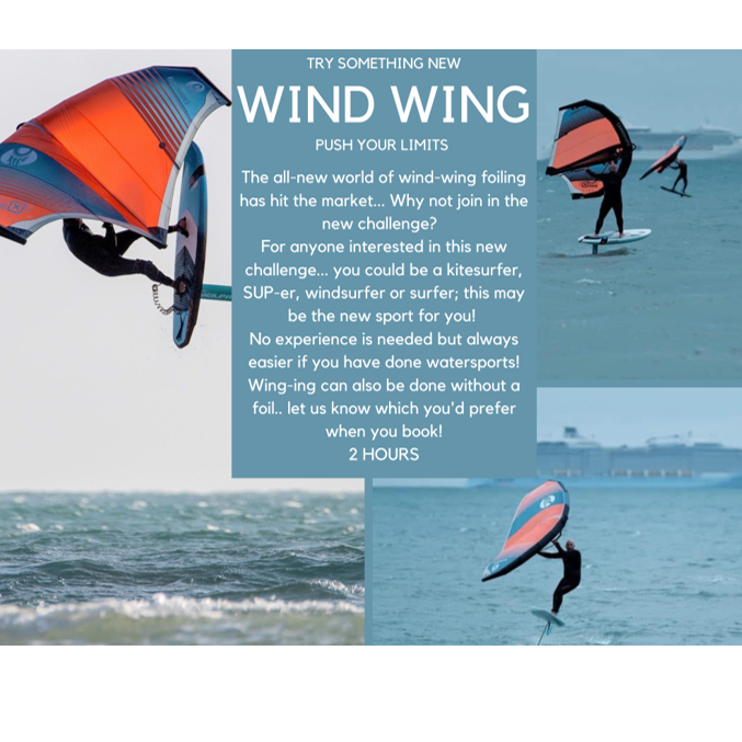 Poole Harbour Watersports School Wind Wing Lesson