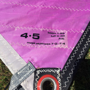 Hyline Kahala Sprint 4.5 Second Hand Sail - Poole Harbour Watersports