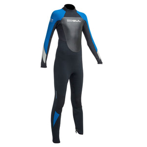Gul Response Junior 3/2mm Wetsuit (Blue or Red) - Poole Harbour Watersports