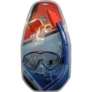 Alder Advance Single lens Combo Snorkel & Mask - Poole Harbour Watersports
