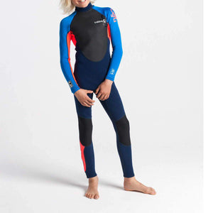 C-Skins Junior Element 3/2 Back Zip Wetsuit - Poole Harbour Watersports