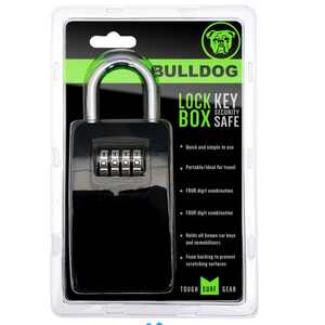 Bulldog Secure Key Lock Box - Poole Harbour Watersports