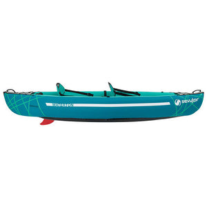 Waterton 2 person inflatable Kayak with paddles - Poole Harbour Watersports