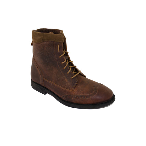 SHOES MEN'S CAMBERWELL AMBRA LEATHER BROGUE BOOT