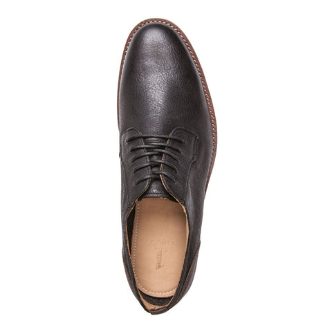 MEN'S MASSEY BLACK LEATHER SHOE T4002