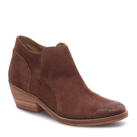 J SHOES WOMEN'S AMELIA BRANDY SUEDE LEATHER ANKLE BOOT