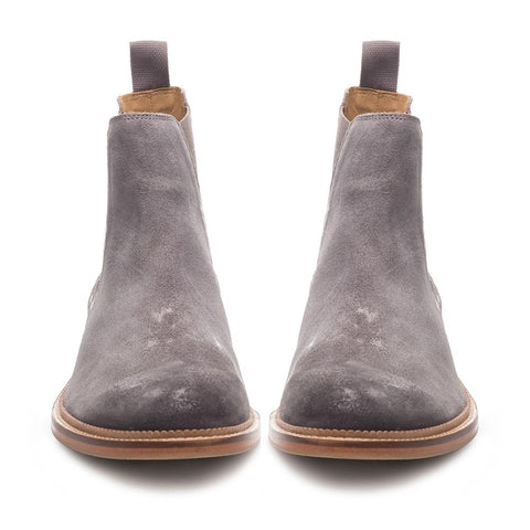 J SHOES MENS JAMIE SUEDE CHELSEA BOOT MAGNET GREY