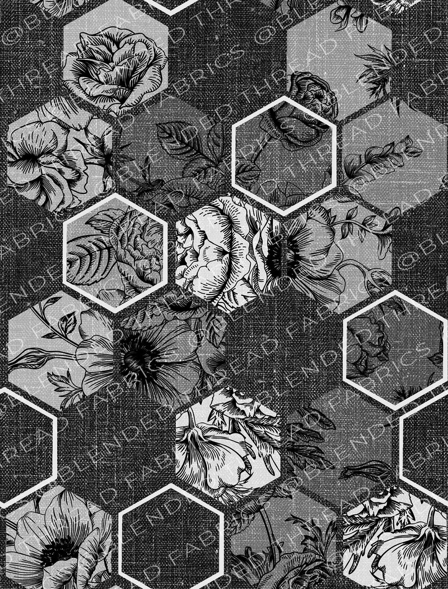 Wallpaper - Hex Floral
