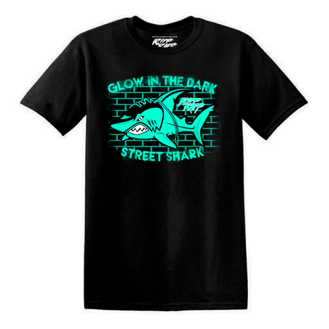 GLOW iN THE DARK STREET SHARK