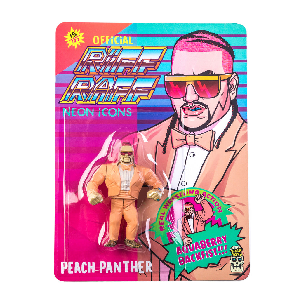 PEACH PANTHER ACTiON FiGURE