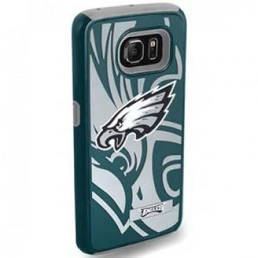 NFL Licensed Dual Hybrid Case for Samsung Galaxy S6 - Philadelphia Eagles