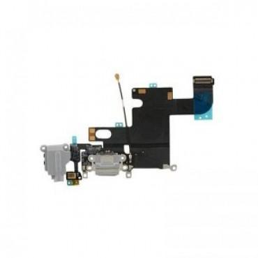 Charging Dock and Headphone Jack Flex Cable for Apple iPhone 6 - Gray