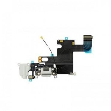 Charging Dock and Headphone Jack Flex Cable for Apple iPhone 6 - Light Gray