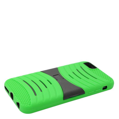 Apple iPhone 6 (5.5 in.) - UCASE Cover w/ Kickstand and Screen Installed - Neon Green