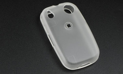 Palm Pre Transparent Luxmo Rubber Protector Case Clear (Sprint & Verizon)