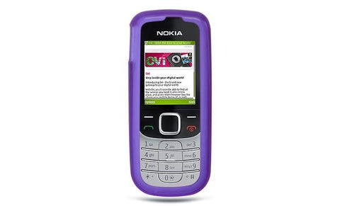 Nokia 2330 Luxmo Crystal Skin Case Purple Tinted