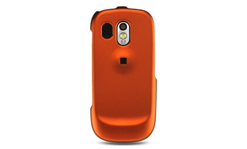 Samsung Caliber / R850 Luxmo Crystal Rubber Protector Case Orange