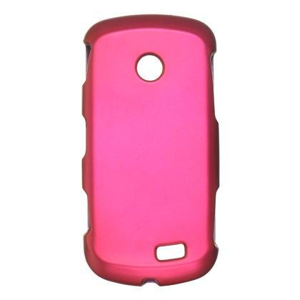 Samsung A817 / Solstice II  Luxmo Crystal Rubber Protector Case Hot Pink