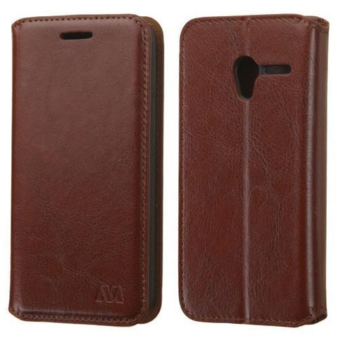 Alcatel 4027A Pixi 3 MyBat MyJacket Wallet -  Brown