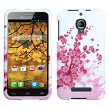 Alcatel 7024W One Touch Fierce MyBat Protector Case - Spring Flowers