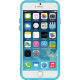 Apple iPhone 6 / 6S Luxmo Candy Bumper Case - Teal / Clear
