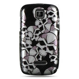 Motorola Theory Luxmo Crystal Case Black Skull