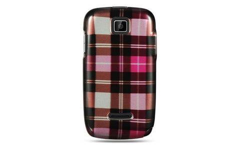 Motorola Theory Luxmo Crystal Case Hot Pink Checker