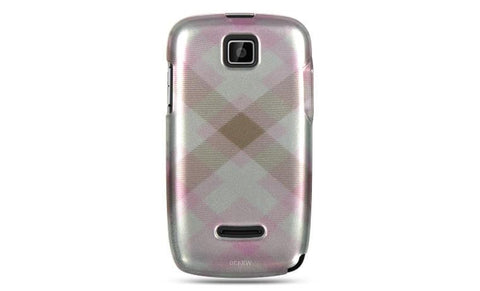 Motorola Theory Luxmo Crystal Case Pink Pastel Checker