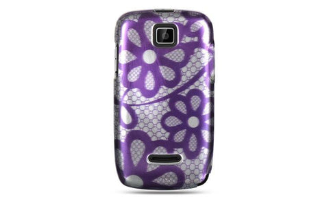 Motorola Theory Luxmo Crystal Case Purple Lace