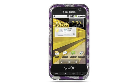 Samsung Conquer 4G / D600 Luxmo Crystal Case Purple Lace