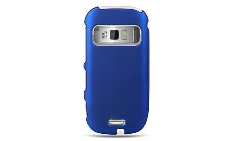 Nokia Astound / C7 Luxmo Crystal Rubber Protector Case Blue