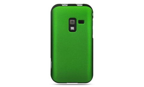 Samsung Conquer 4G / D600 Luxmo Crystal Rubber Protector Case Green