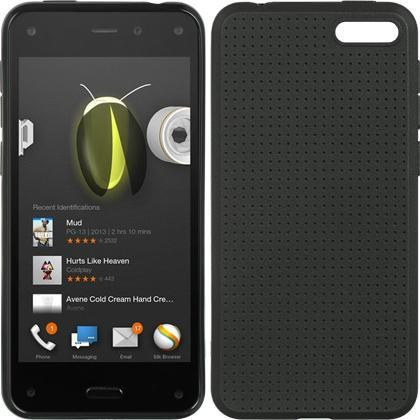 Amazon Fire Phone Luxmo TPU Case - Black w/ Dots
