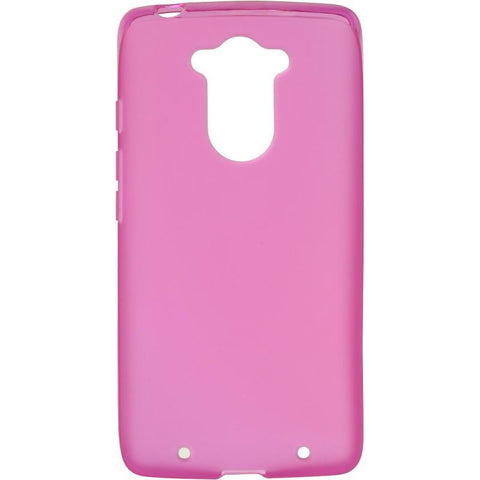 Motorola Droid Turbo Luxmo Crystal Skin Case - Tinted Hot Pink