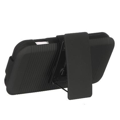 Samsung Attain 4G / R920 Snap On Stand Holster Combo Black