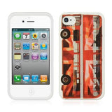 Apple iPhone 4 / 4S Luxmo TPU Case - Route Master