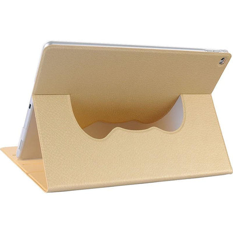 Apple iPad Pro Luxmo Smart Cover 360 Degree Rotatable Cloud Case - Gold