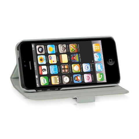 Apple iPhone 5 Luxmo Stand Dolce Pouch White