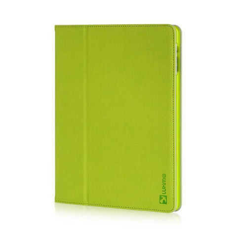 Apple iPad 2 / 3 Luxmo Platinum Collection Elite Series PolyCouture Pouch - Green