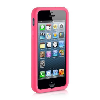 Apple iPhone 5 Luxmo Premium Skin Case Hot Pink